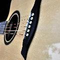 平静的一刻的作品:rosen吉他弹唱录音测试音色